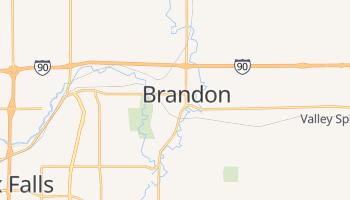 Brandon, South Dakota map