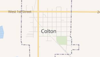 Colton, South Dakota map