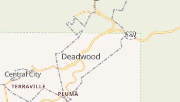 Deadwood, South Dakota map