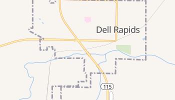 Dell Rapids, South Dakota map