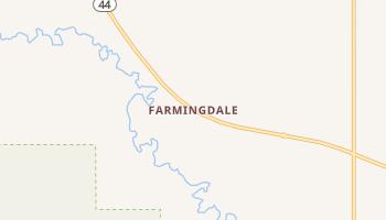 Farmingdale, South Dakota map