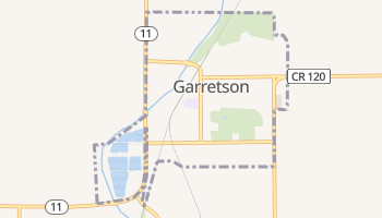 Garretson, South Dakota map