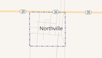Northville, South Dakota map