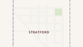 Stratford, South Dakota map