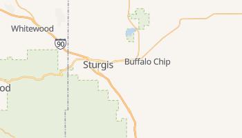 Sturgis, South Dakota map
