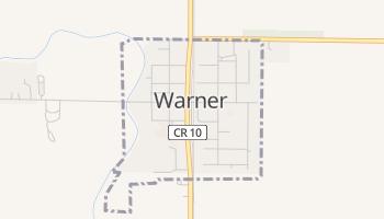 Warner, South Dakota map