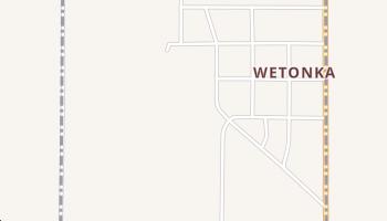 Wetonka, South Dakota map