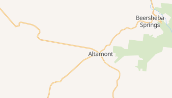Altamont, Tennessee map