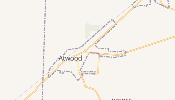 Atwood, Tennessee map