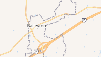 Baileyton, Tennessee map