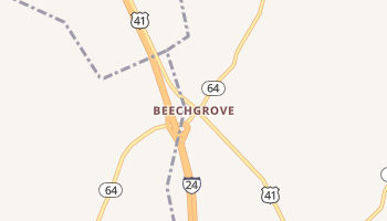 Beechgrove, Tennessee map