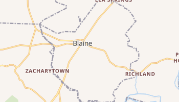 Blaine, Tennessee map