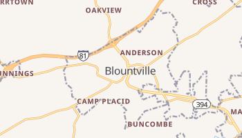 Blountville, Tennessee map