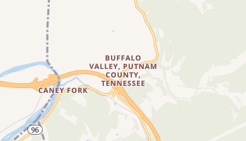 Buffalo Valley, Tennessee map