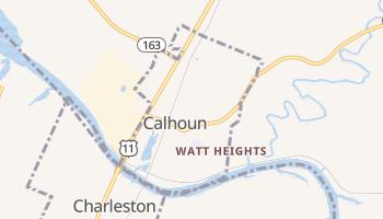 Calhoun, Tennessee map
