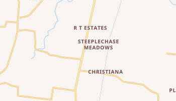 Christiana, Tennessee map