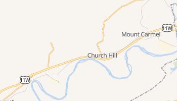 Church Hill, Tennessee map