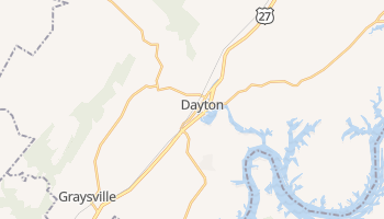 Dayton, Tennessee map