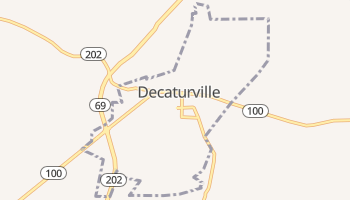 Decaturville, Tennessee map