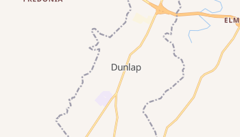 Dunlap, Tennessee map