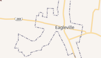 Eagleville, Tennessee map