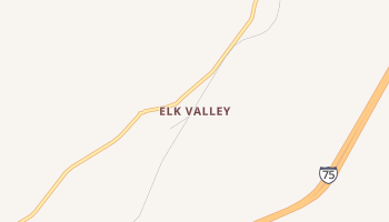 Elk Valley, Tennessee map