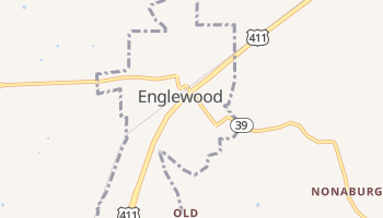 Englewood, Tennessee map