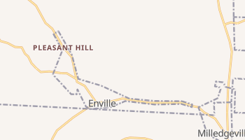 Enville, Tennessee map