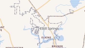 Estill Springs, Tennessee map