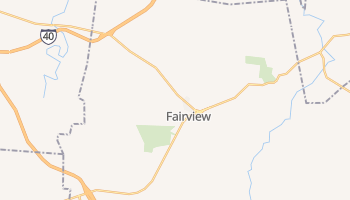 Fairview, Tennessee map