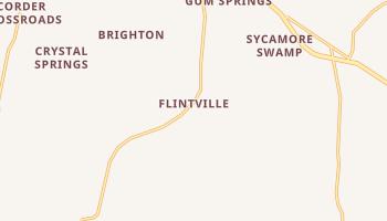 Flintville, Tennessee map