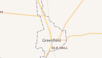 Greenfield, Tennessee map