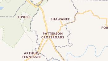 Harrogate, Tennessee map