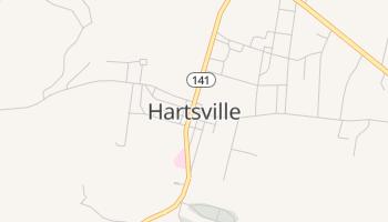 Hartsville, Tennessee map