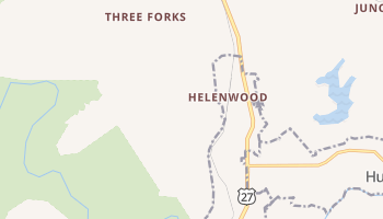Helenwood, Tennessee map