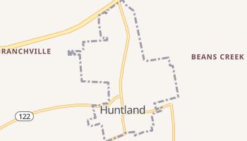 Huntland, Tennessee map
