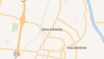 Inglewood, Tennessee map