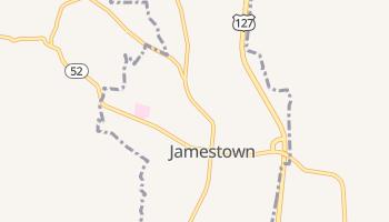 Jamestown, Tennessee map