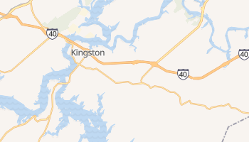 Kingston, Tennessee map