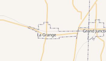 La Grange, Tennessee map