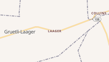 Laager, Tennessee map