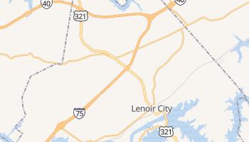 Lenoir City, Tennessee map