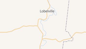 Lobelville, Tennessee map
