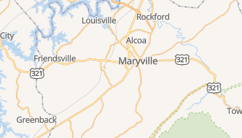 Maryville, Tennessee map