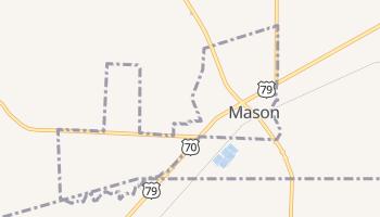 Mason, Tennessee map