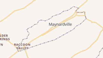 Maynardville, Tennessee map