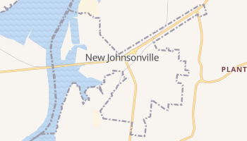 New Johnsonville, Tennessee map