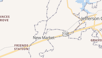 New Market, Tennessee map