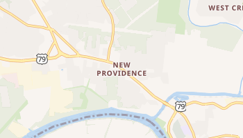 New Providence, Tennessee map
