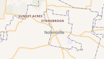 Nolensville, Tennessee map